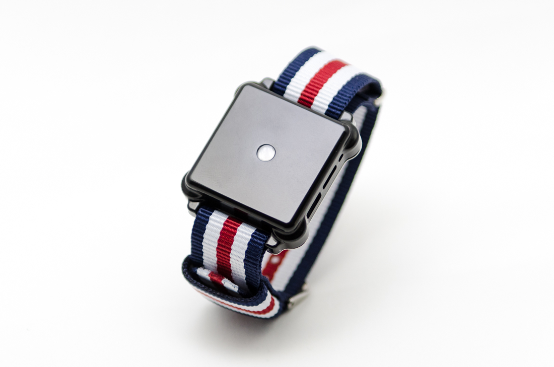 The Moment wristband has no screen, just four motors to deliver specific vibrations for different notifications.