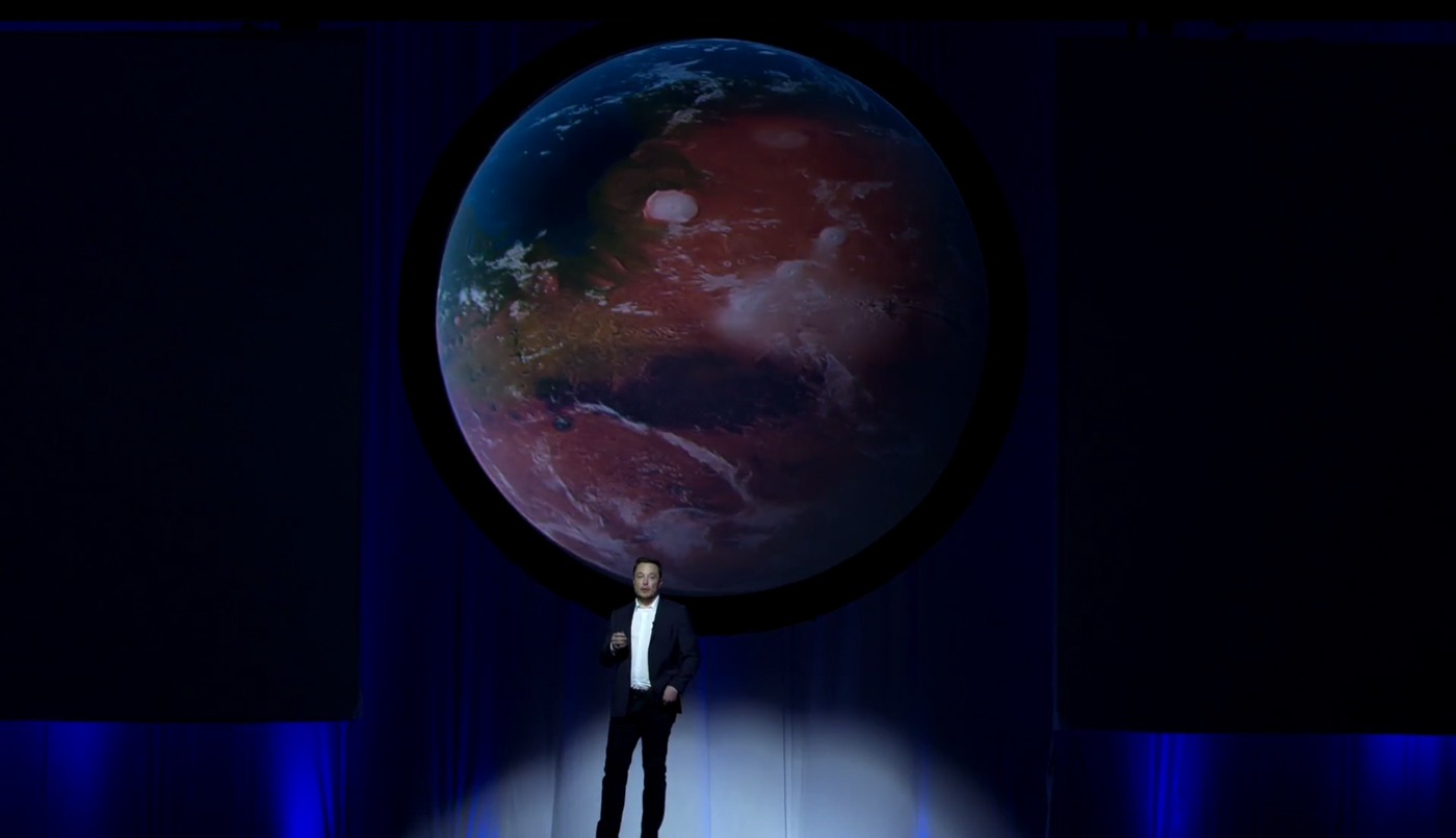 Terraforming Mars. It's that easy.