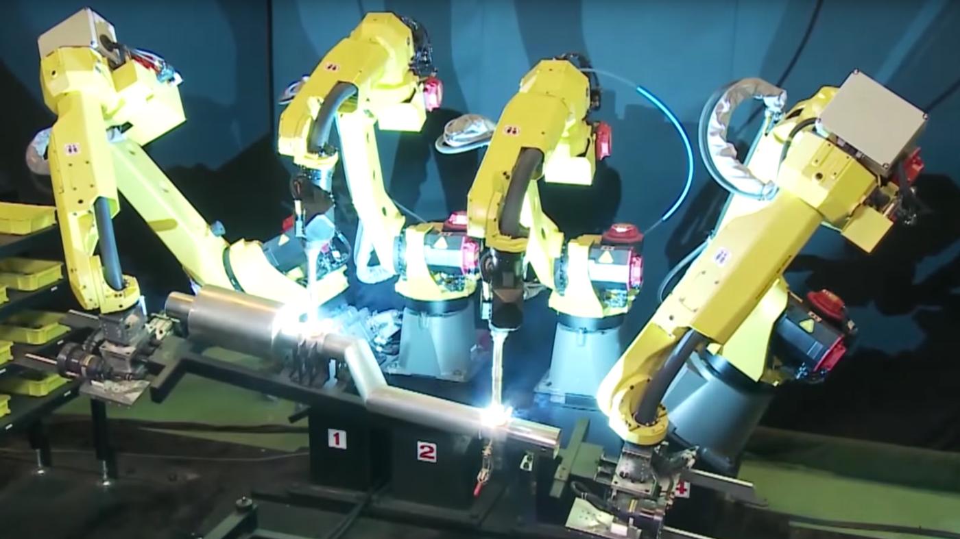 ファナックがNVIDIAと提携 産業用ロボットに強化学習