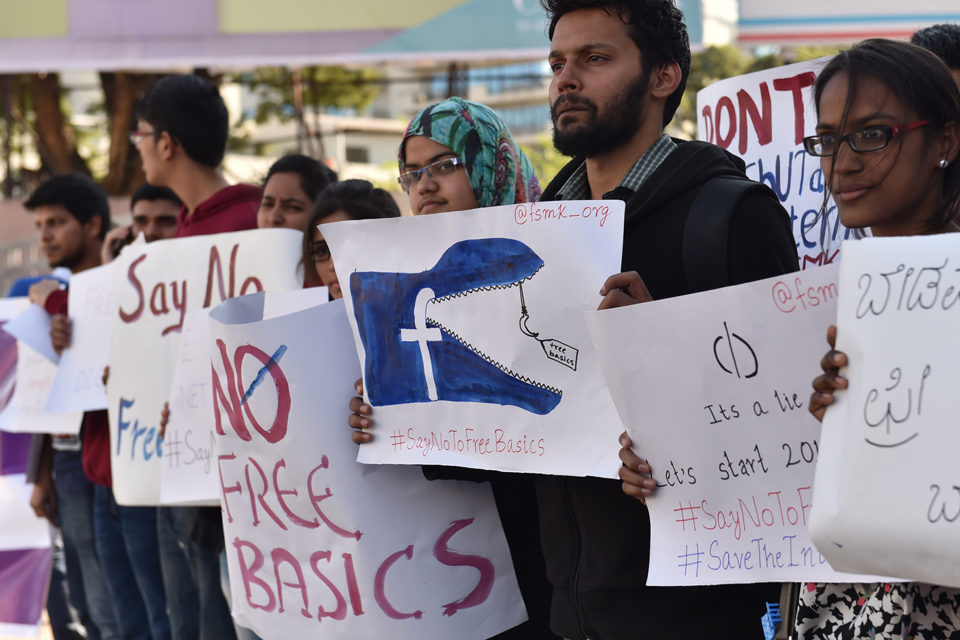 Facebook's Free Basics program did not go over well in India.