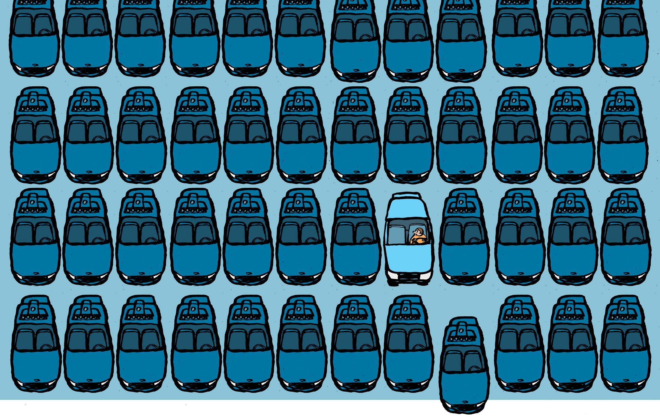 試験中の自動運転タクシーはしばらく試験中のままな理由