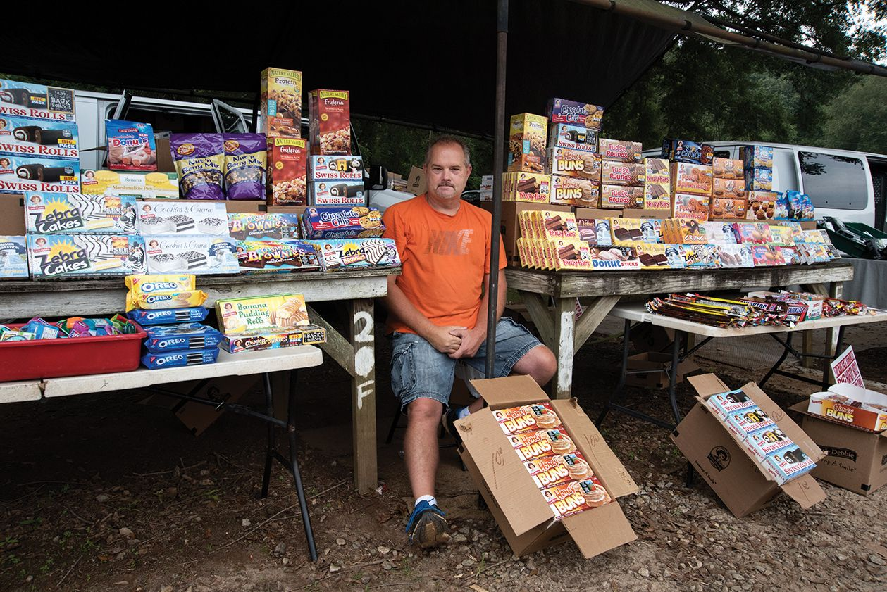 The flea market in Pickens County. (3 of 10)