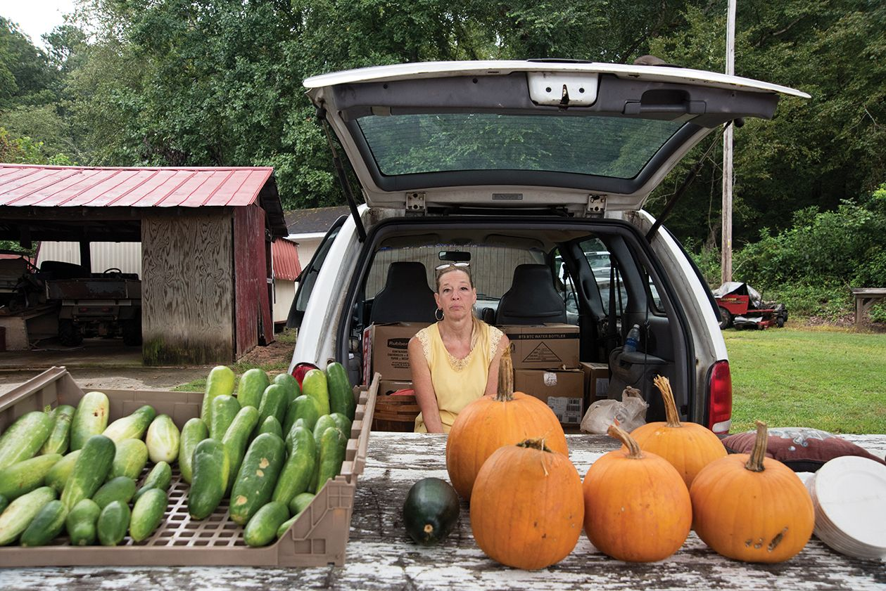 The flea market in Pickens County. (6 of 10)