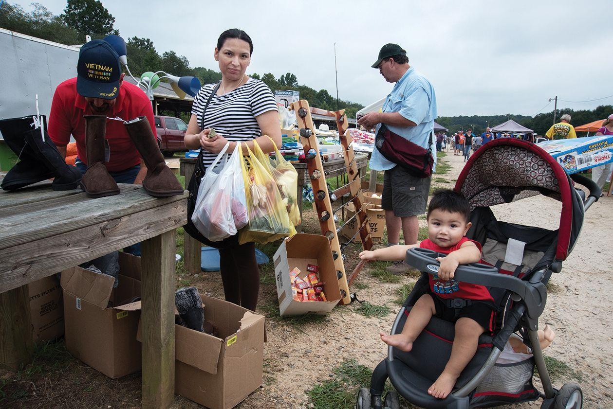 The flea market in Pickens County. (2 of 10)