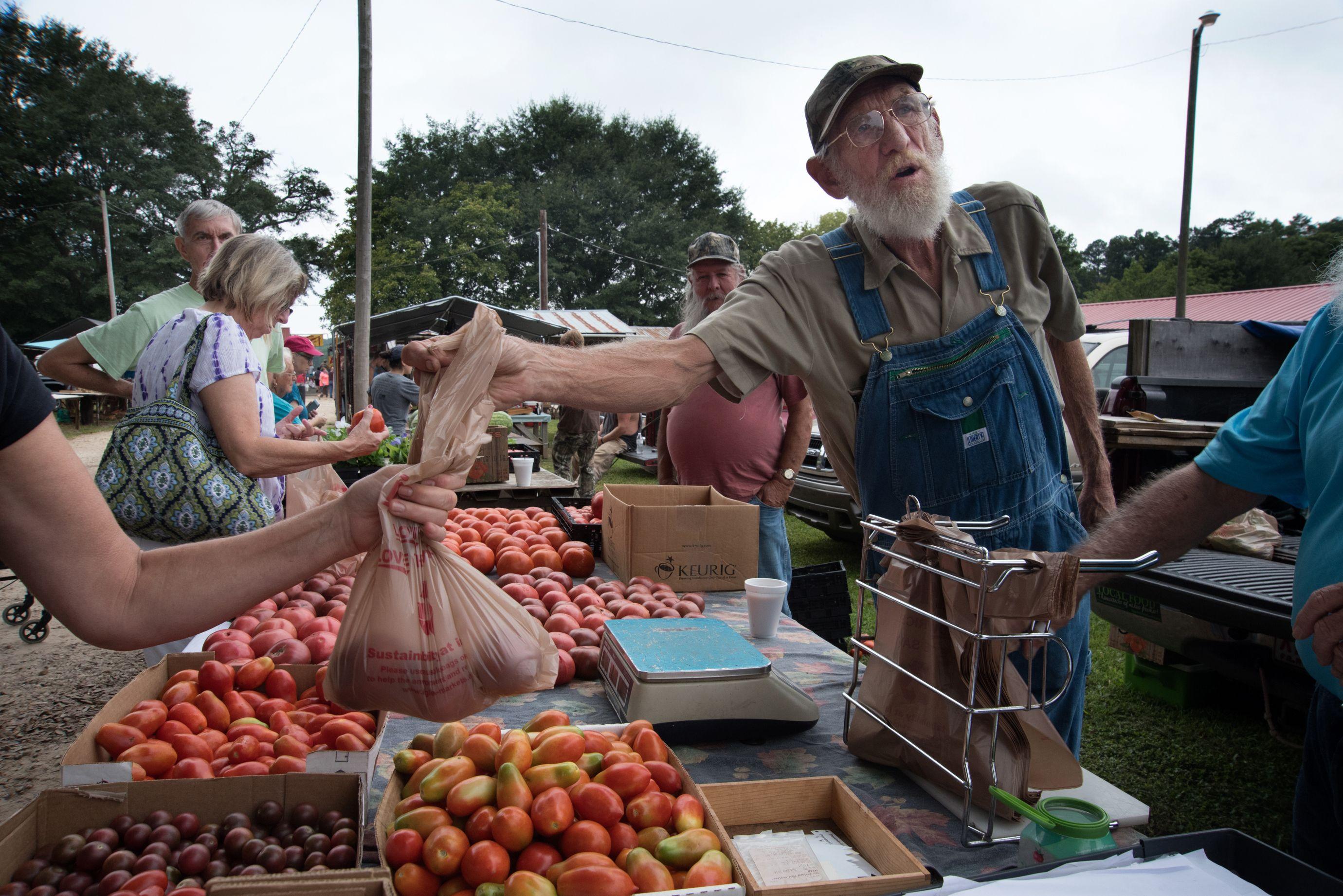 The flea market in Pickens County. (10 of 10)