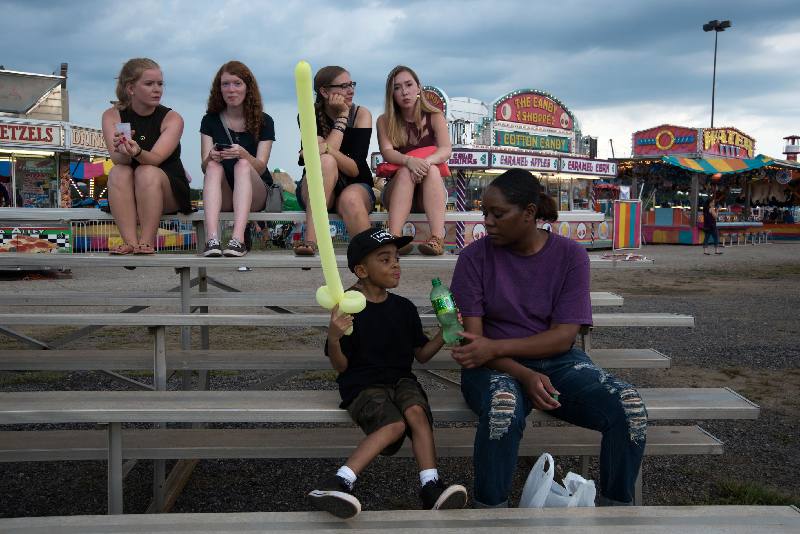 At the Upper South Carolina State Fair, held at the NASCAR Greenville Pickens Speedway. (6 of 10)