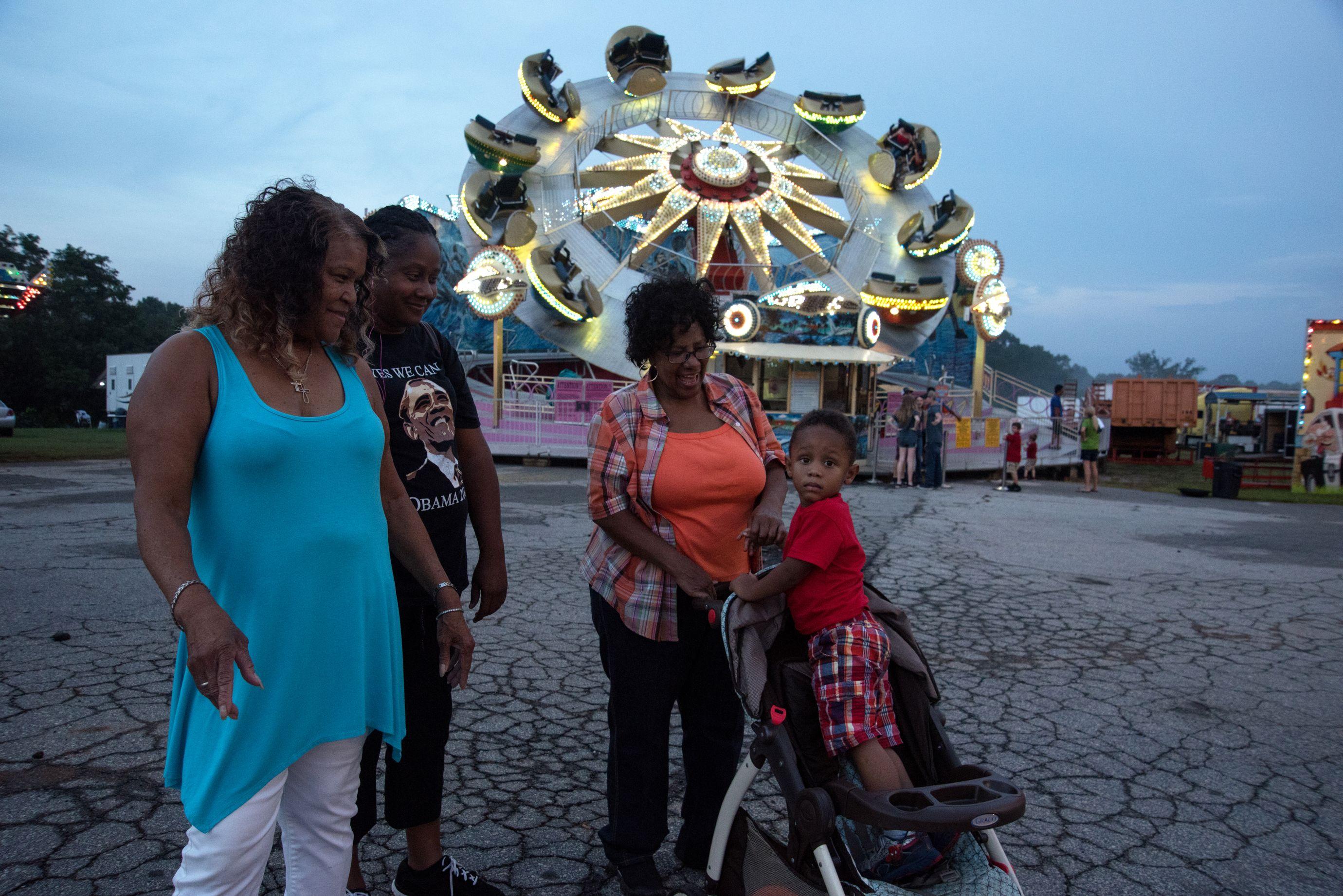 At the fair. (8 of 10)