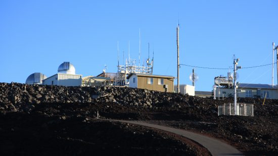 NOAA's Mauna Loa Observatory in Hawaii has been continuously monitoring atmospheric carbon dioxide since 1958.