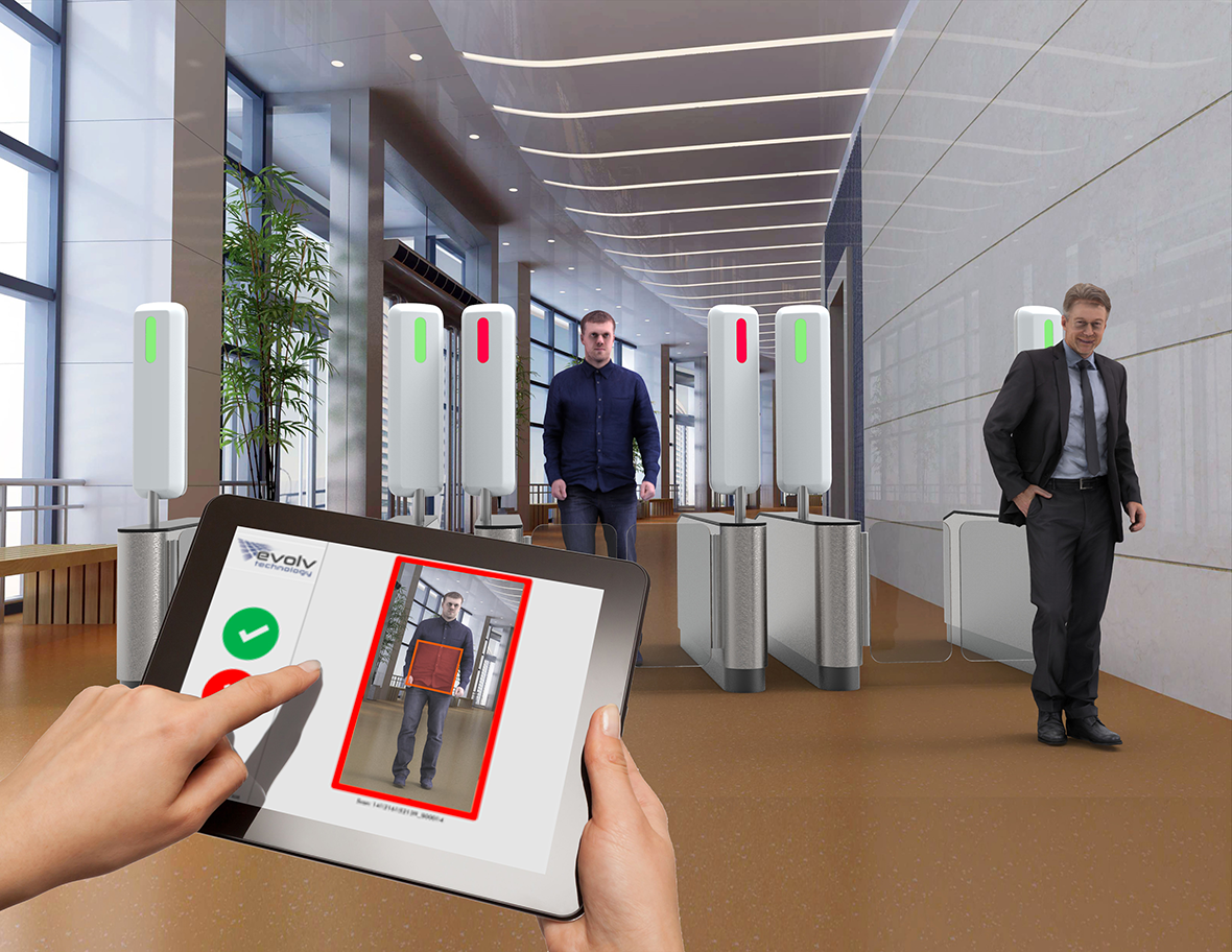 Evolv says its scanner will make airport security a breeze.