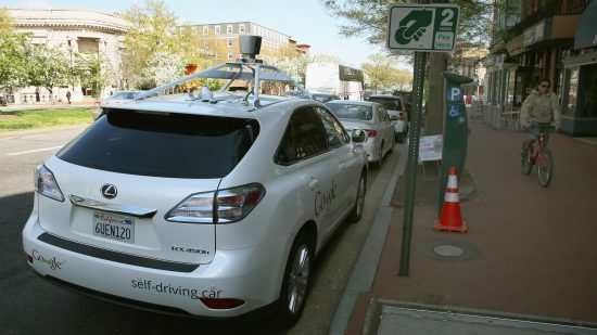 If you want to make a driverless car stop, just drive right in front of it.