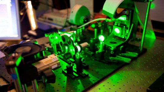 Manipulating laser beams encoded with data offers a shortcut on certain tricky computing operations.