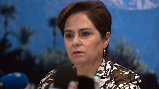 """Patricia Espinosa, executive secretary of the United Nations Framework Convention on Climate Change, urged """"sober assessment"""" over the task still ahead."""