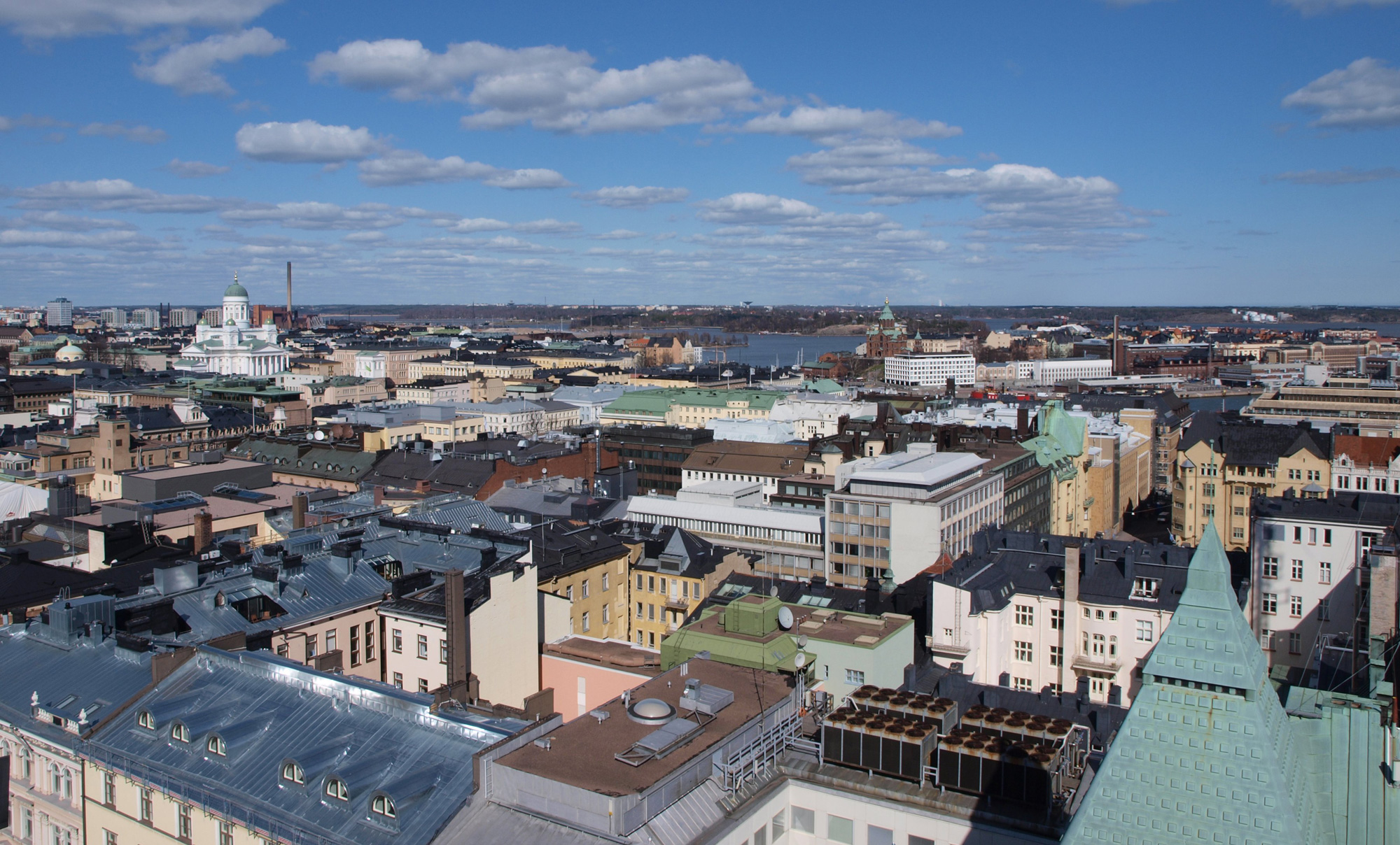 Of Helsinki's 1.2 million people, 900,000 have used public transportation in the past six months.