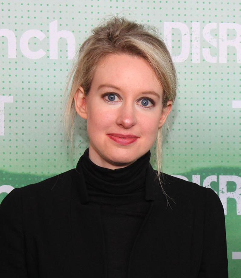 Theranos CEO, Elizabeth Holmes.