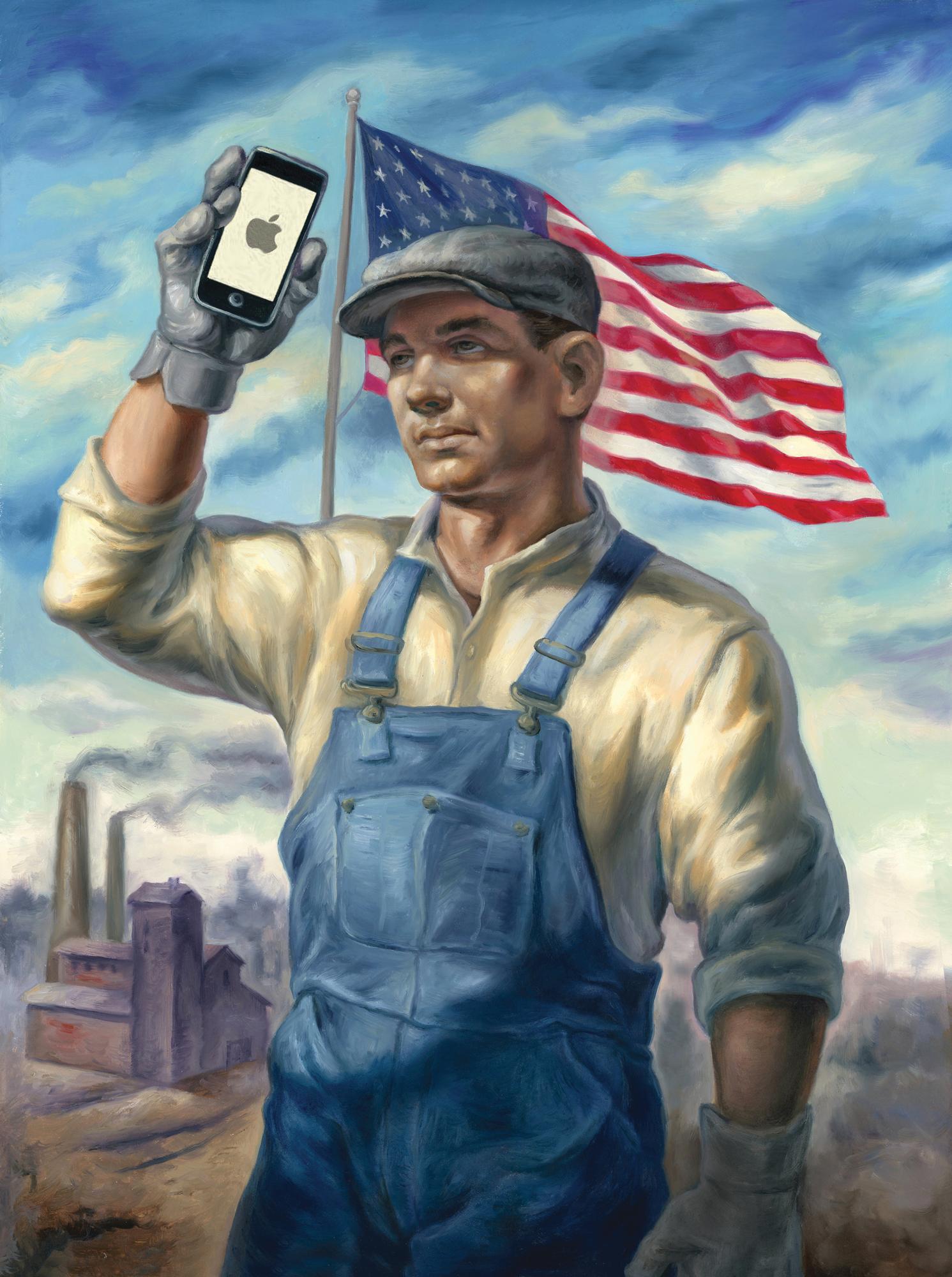 アップルがiPhoneを米国で作ったらどうなるか?