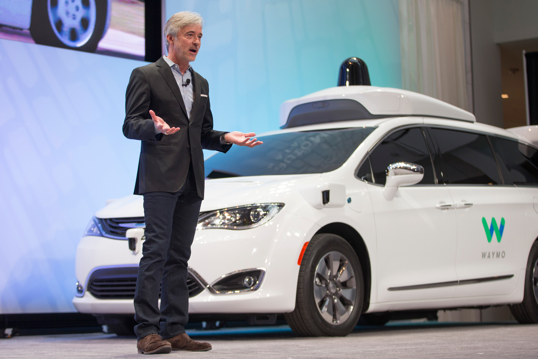 Waymo's CEO, John Krafcik, doesn't want his cars to be hacked.