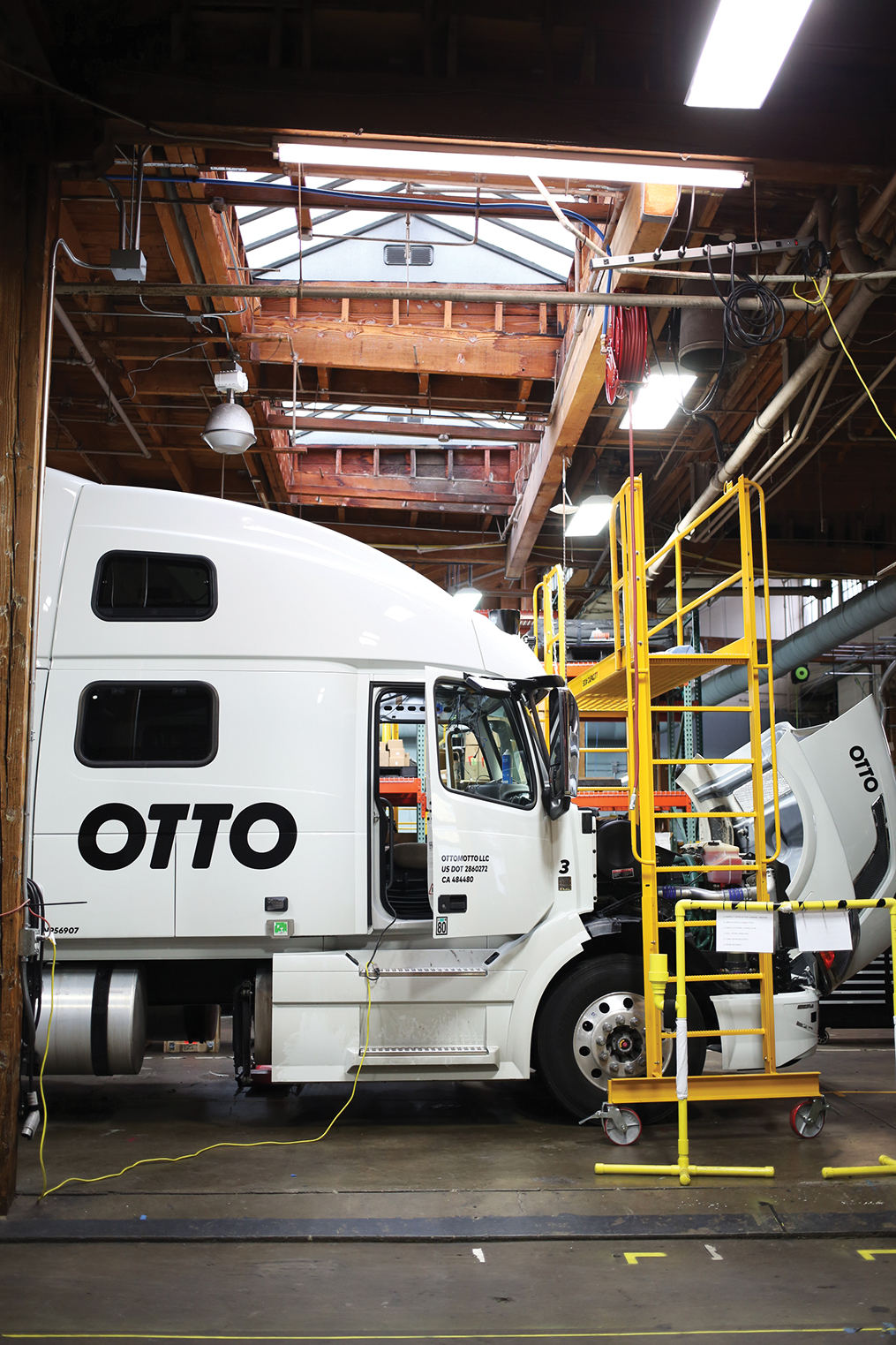 Otto says it has no intention of getting drivers out of the cab entirely—at least for the next decade.