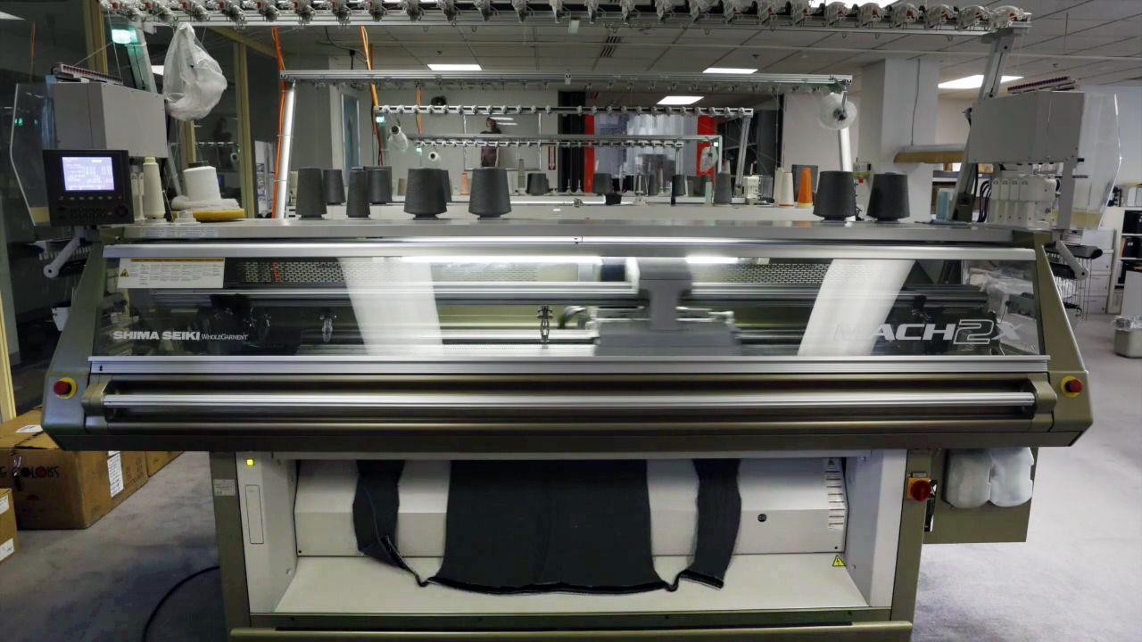 島精機製作所、3D編み物で繊維産業革命