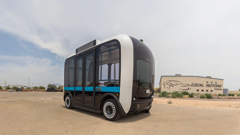 AIで空席案内、忘れ物自動検出の障害者向けハイテクバス