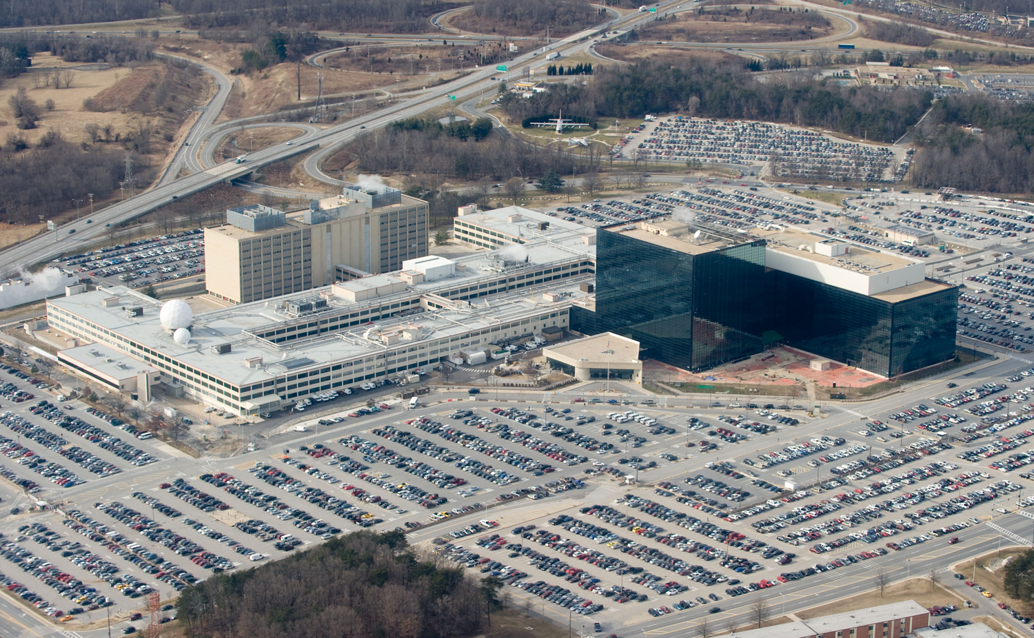 NSA headquarters, where software vulnerabilities go to be hoarded in secret ... and then stolen, leaked, and unleashed on an unsuspecting public.