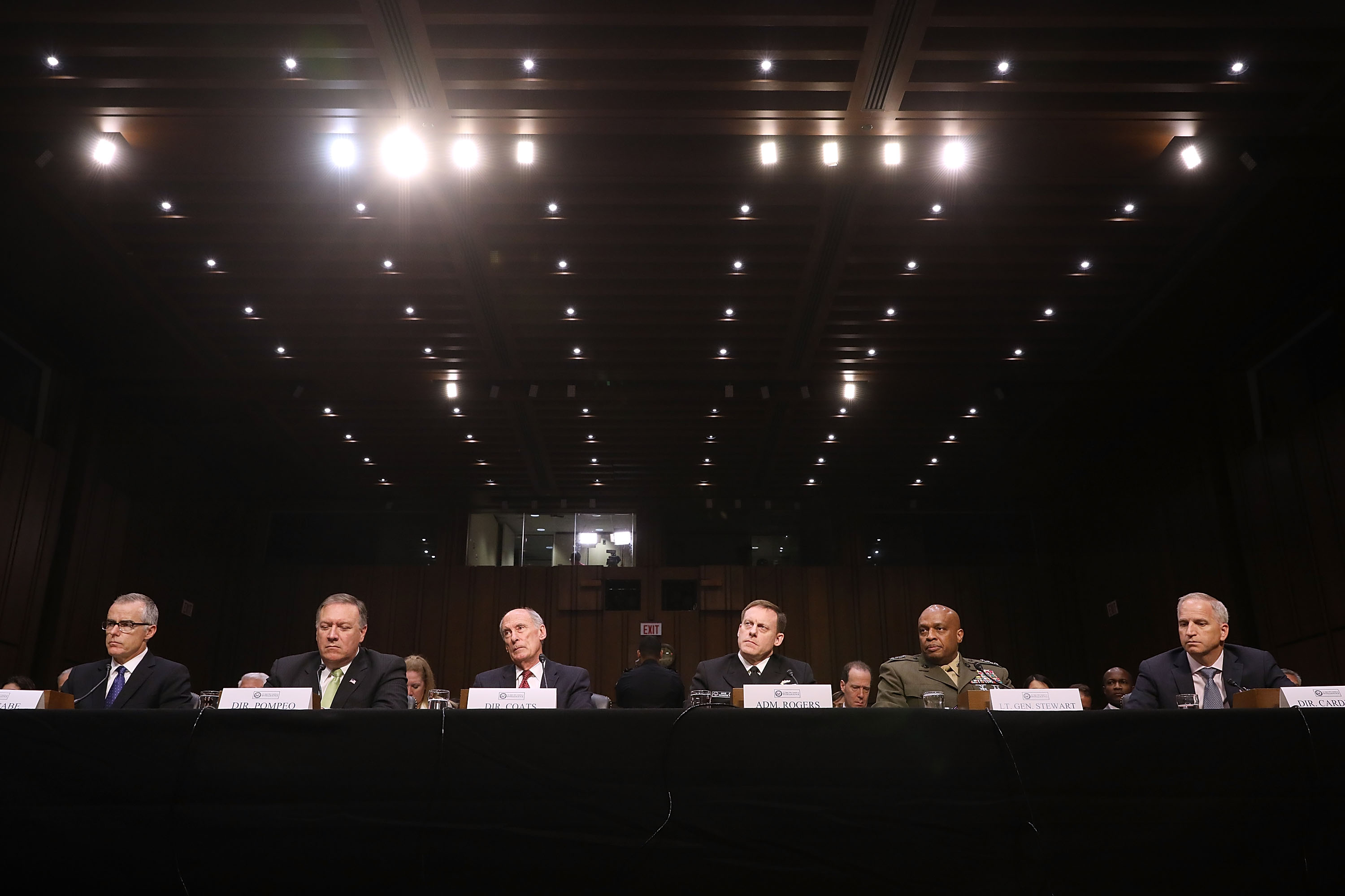 The top brass in the U.S. intelligence community are keeping their mouths shut about software vulnerabilities.