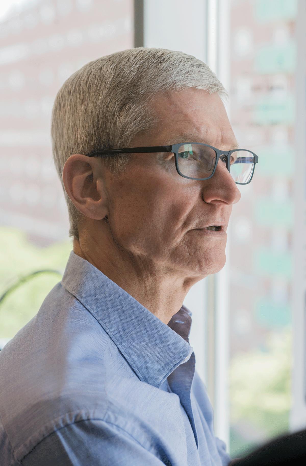 ティム・クックCEO独占インタビュー 「アップルはすでにAIを活用している」