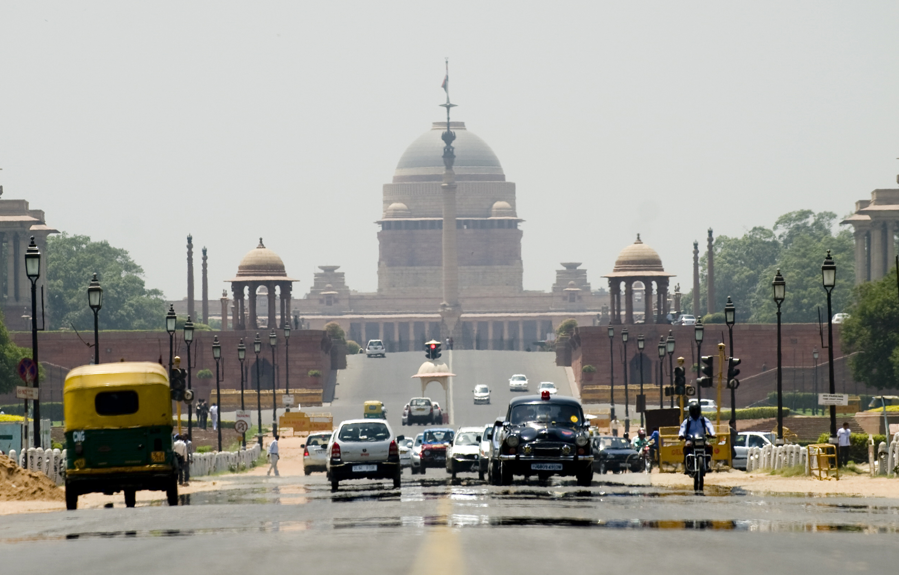 New Delhi, in the north of India, is projected to be among the hardest hit by rising temperatures.