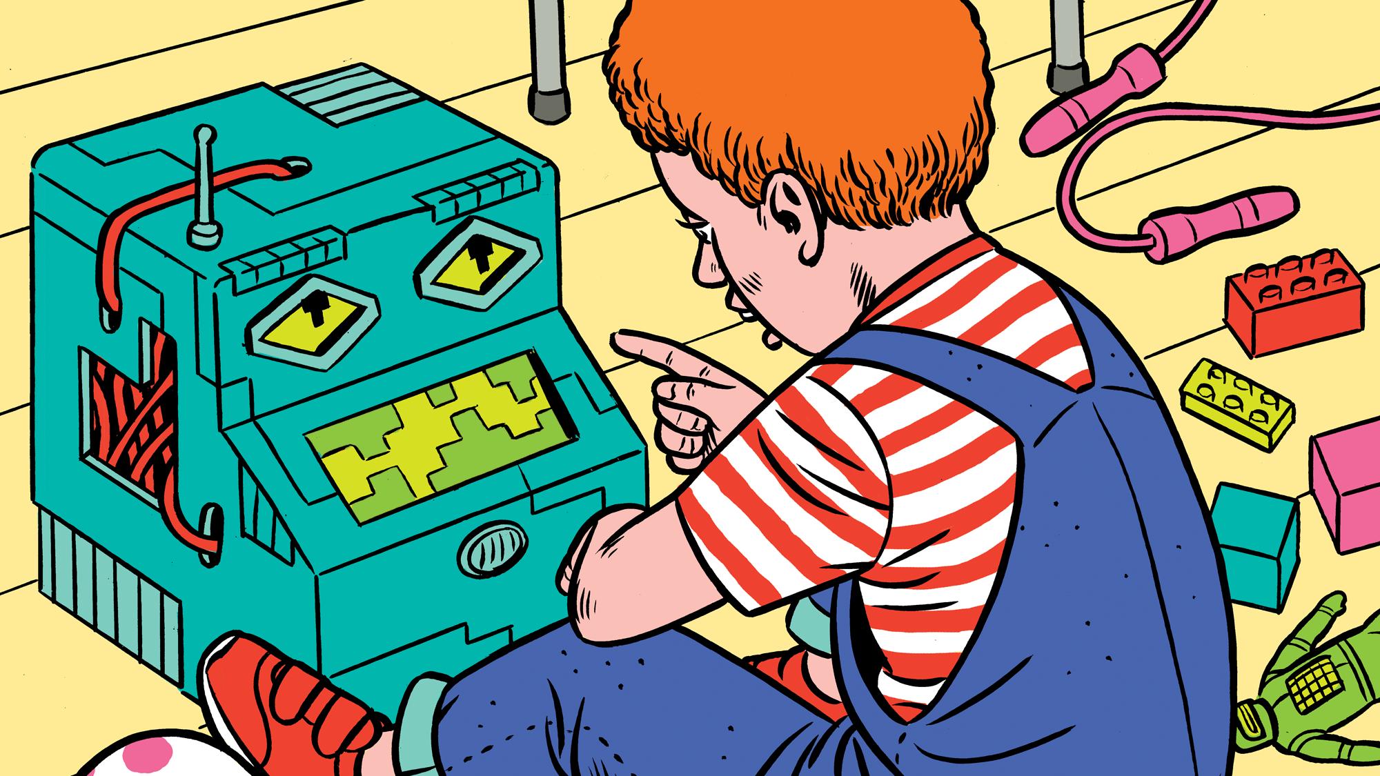 機械から学習する子どもたち  AIネイティブ世代の行方