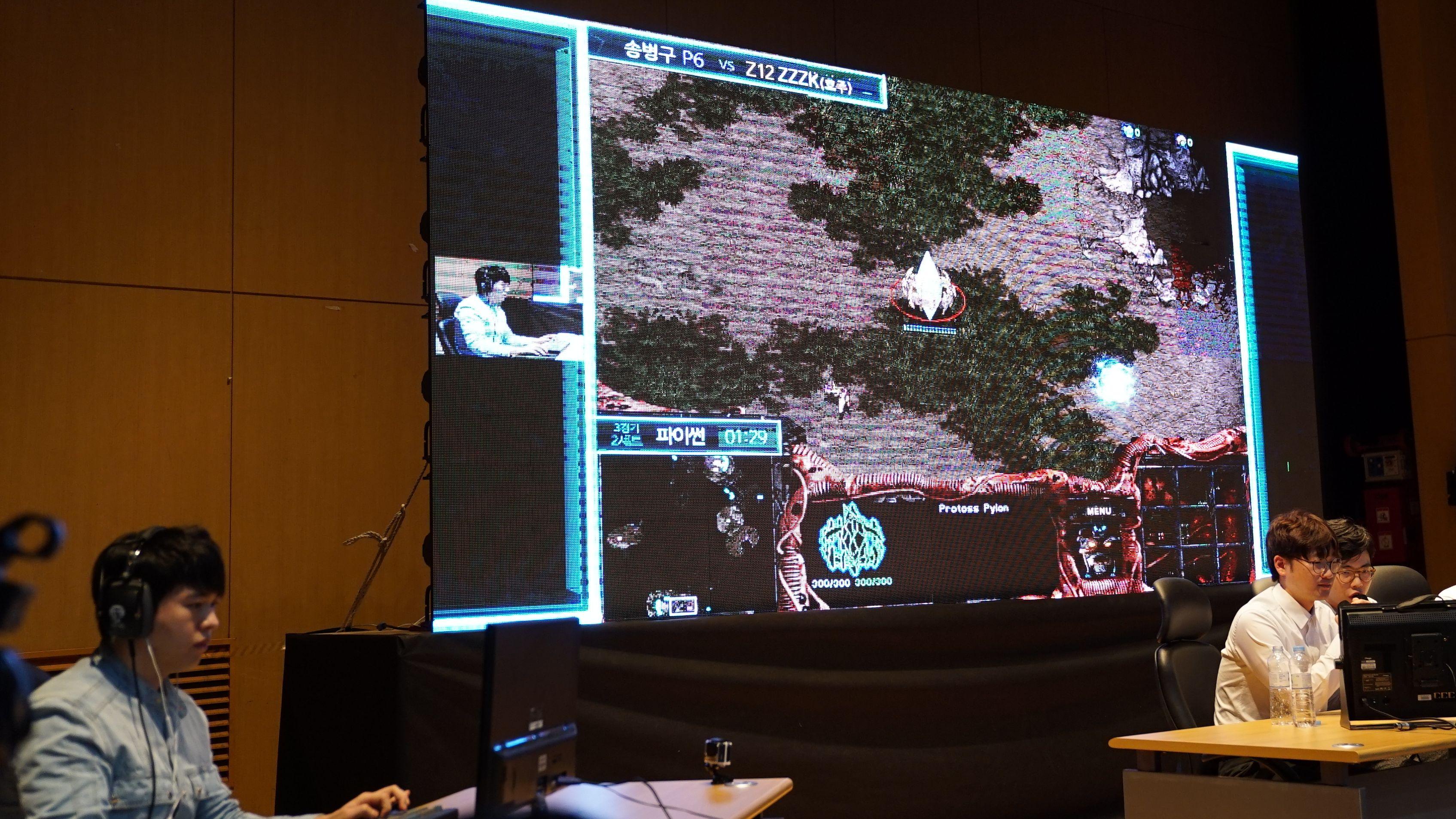 スタークラフトのAI対決、プロゲーマーが圧勝