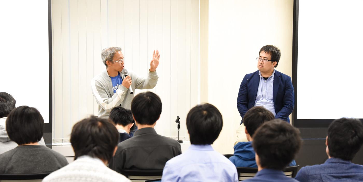 日本の学生は世界でどう戦うか?  先端テック企業トップがエール