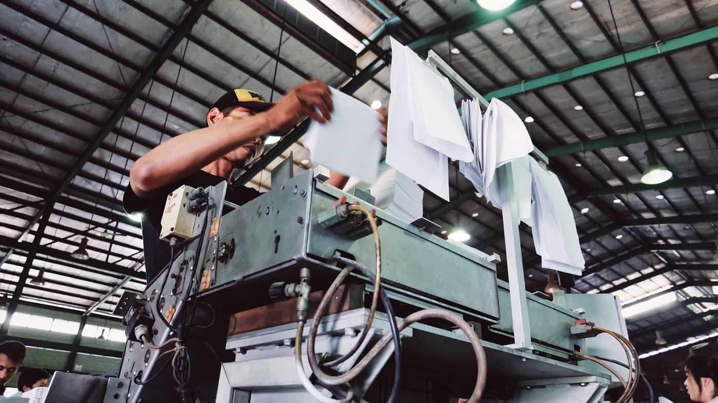 気候変動は生産性低下にも影響、中国50万工場で調査