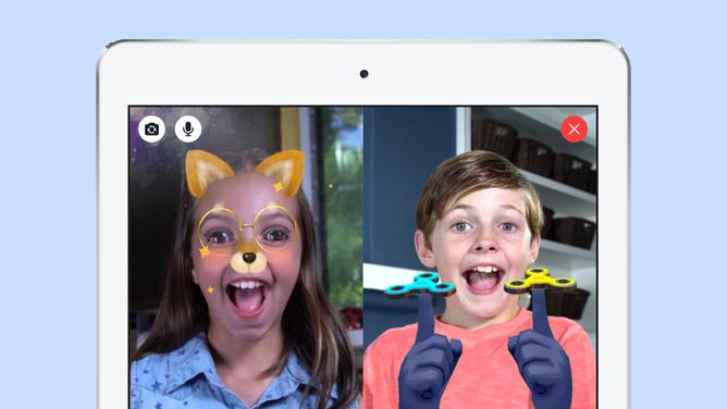 フェイスブック、専用メッセージアプリで小学生を囲い込み
