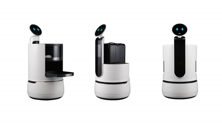 LGの新型お助けロボット、仁川国際空港に配属