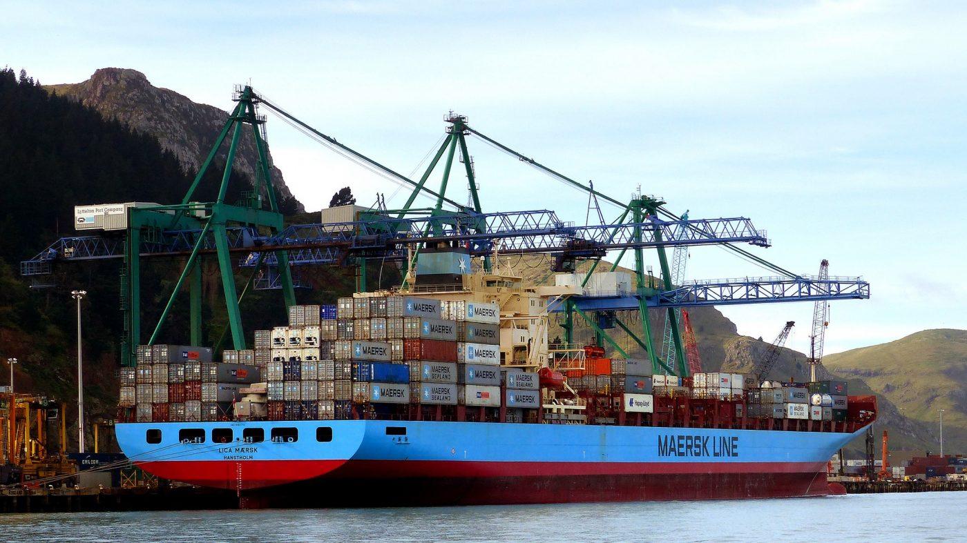 世界最大の海運会社がブロックチェーンによる輸送管理を計画中