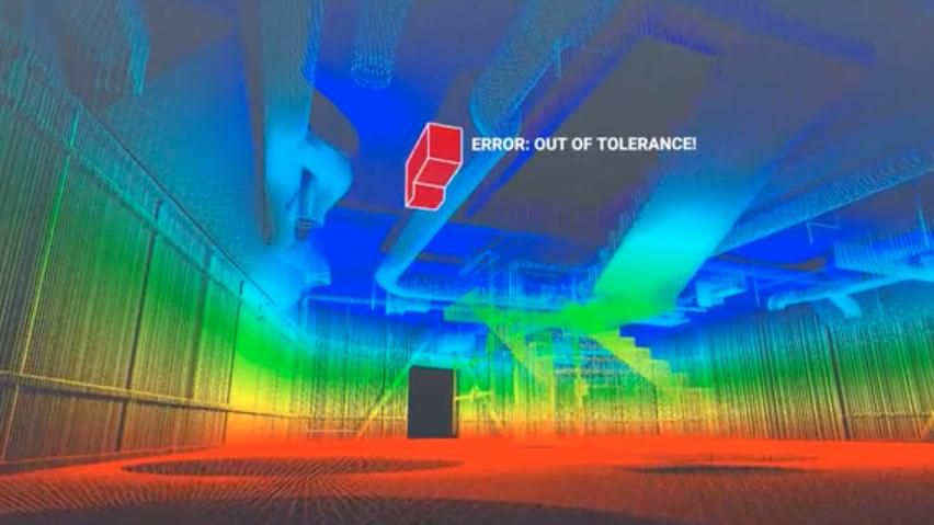 3D画像を収集する夜回りロボットが建設現場で働き方改革