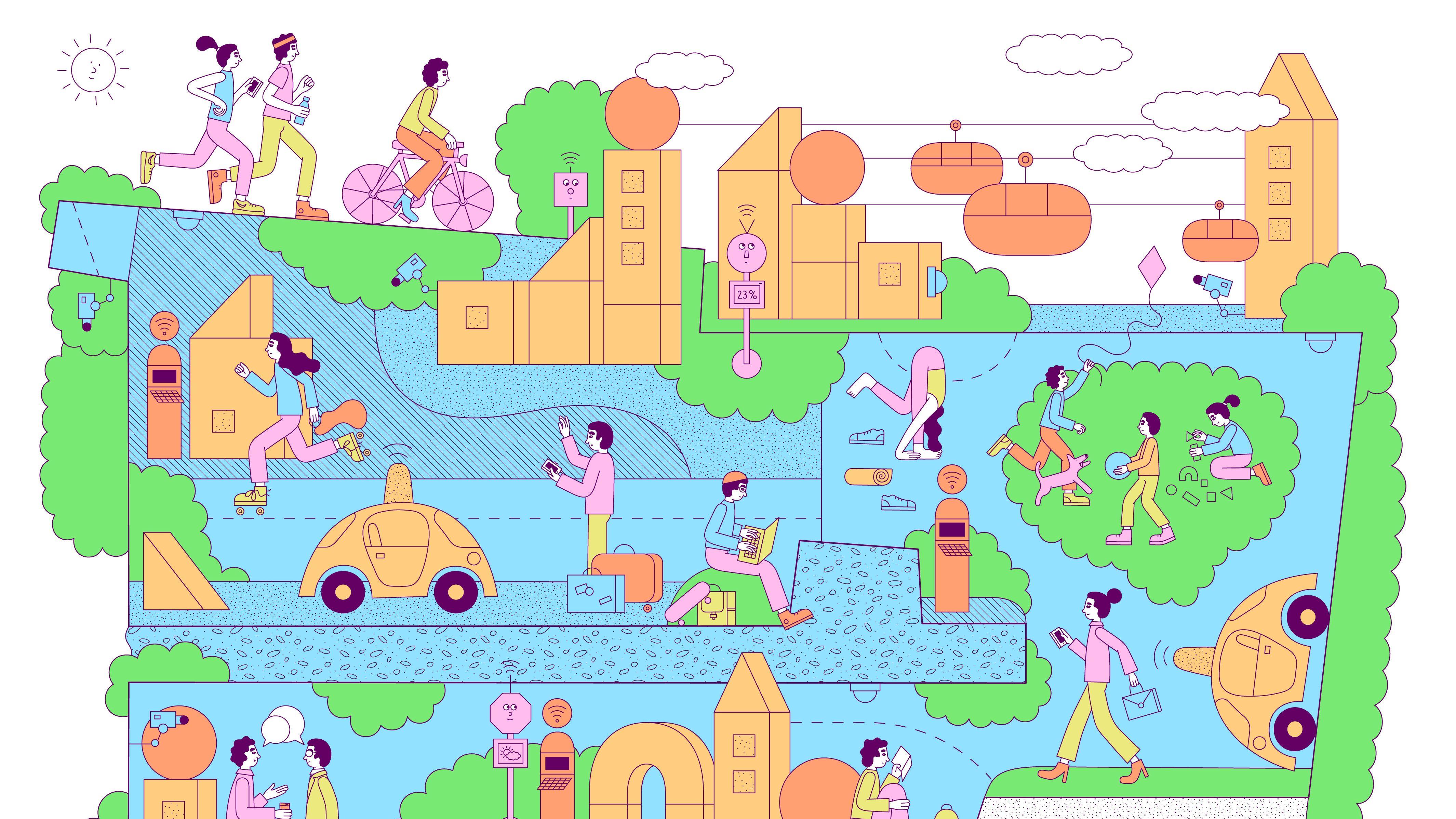 街を丸ごとスマホ化する グーグルが考える 本物のスマートシティ