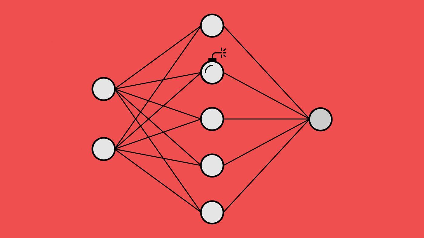 ニューラルネット版「トロイの木馬」がAIの時限爆弾になる可能性