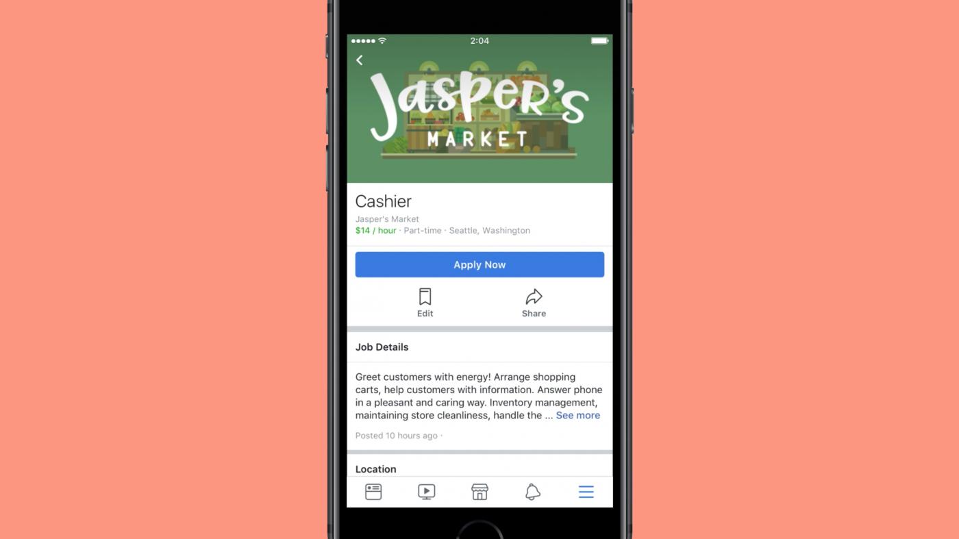 フェイスブック、世界40カ国で求人広告事業を本格展開へ
