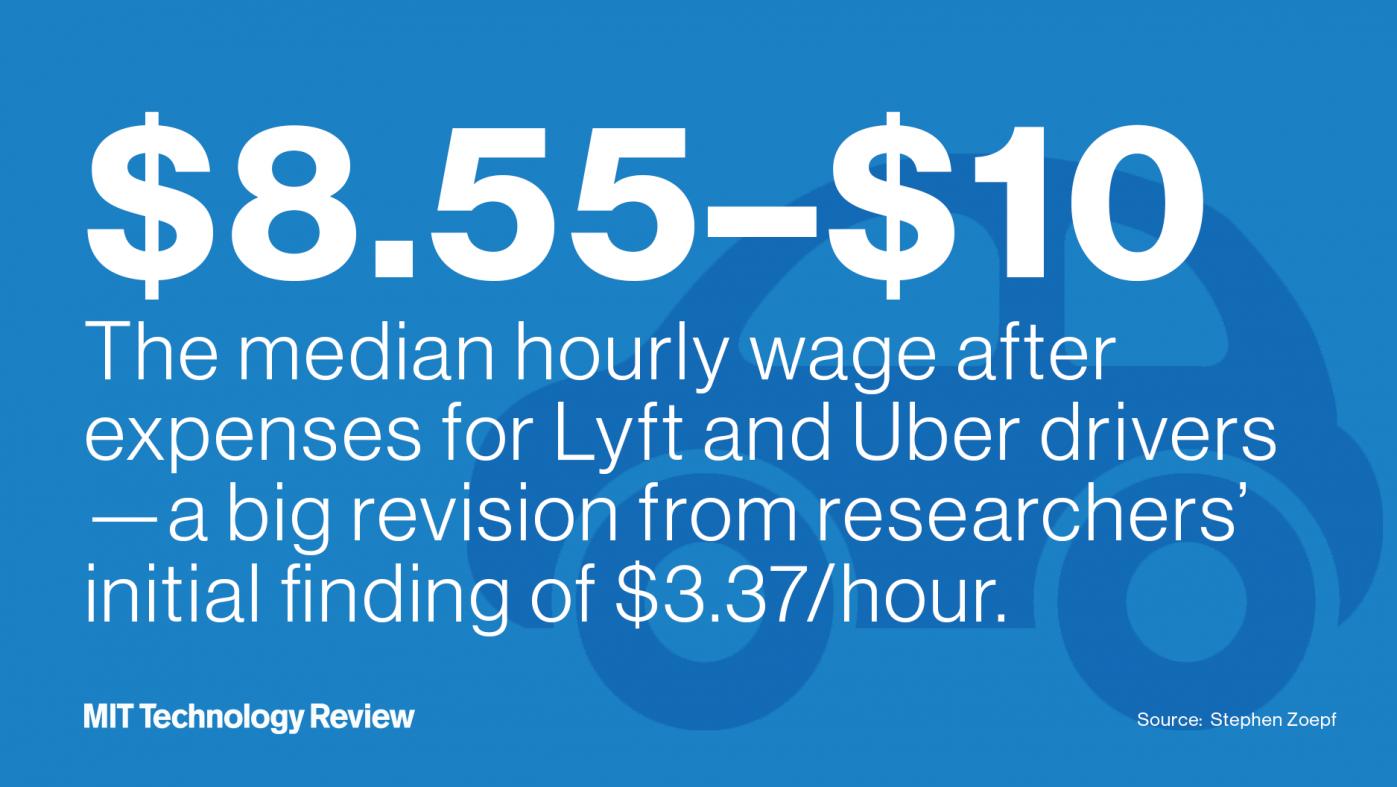 ウーバーとリフトの時給3ドル問題、研究チームが論文修正へ