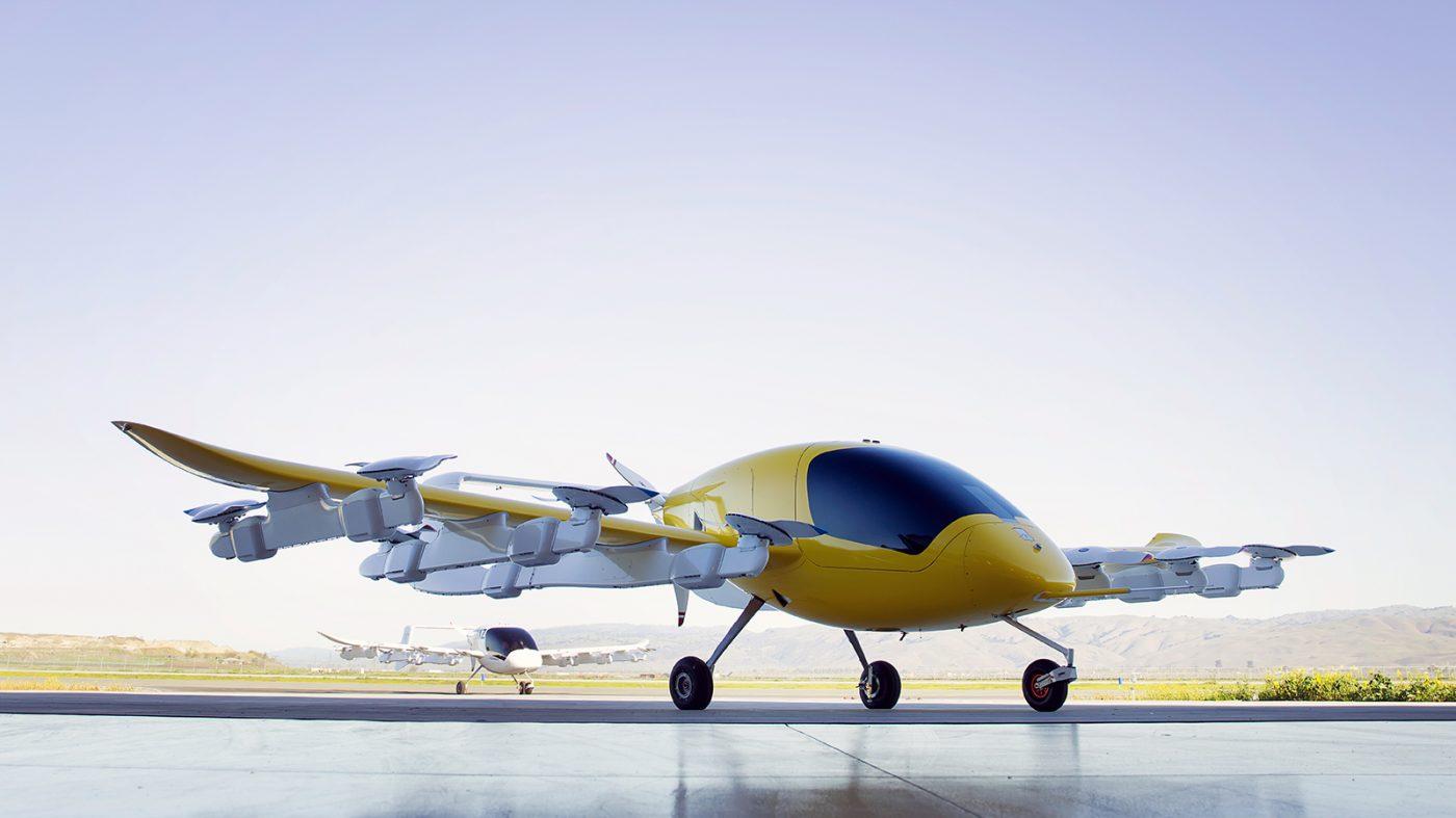 グーグル元幹部の「空飛ぶタクシー」がニュージーランドで飛行中
