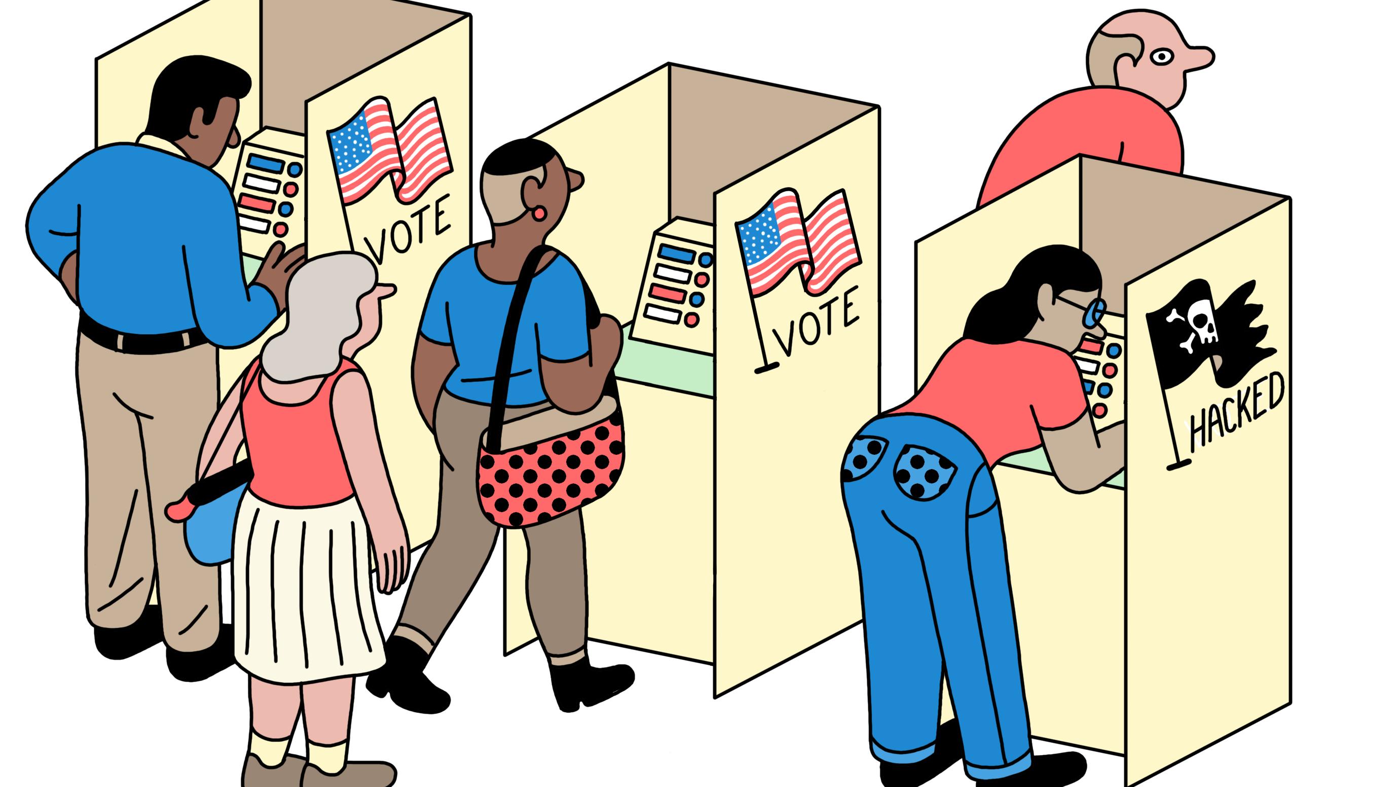ペーパーレスは時代遅れ? 米中間選挙でハッカーが狙う 投票インフラ5つの弱点