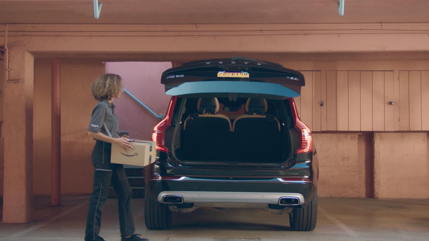 アマゾン、車のトランクを宅配ボックスにする新サービス