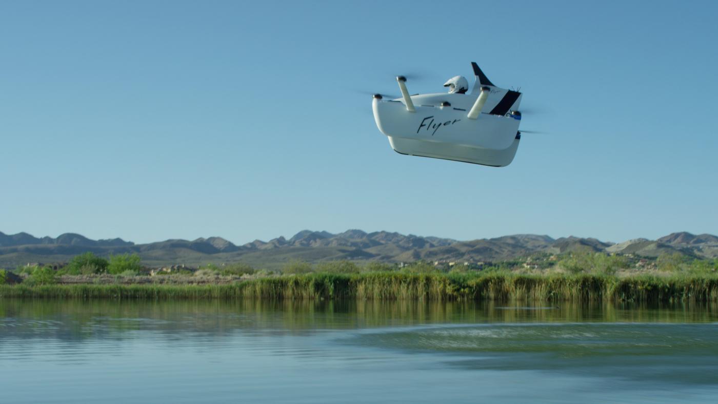 免許不要、ラリー・ペイジが出資する空飛ぶ車がお披露目