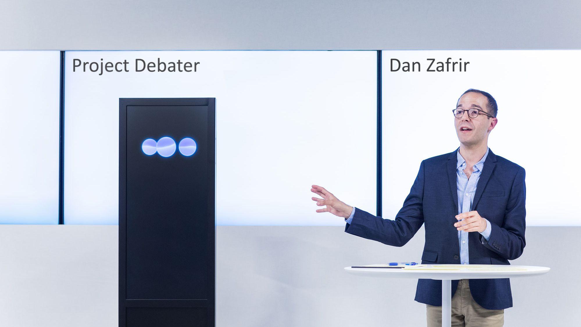 機械は人間との議論に勝てるのか? IBMのディベートAIの実力