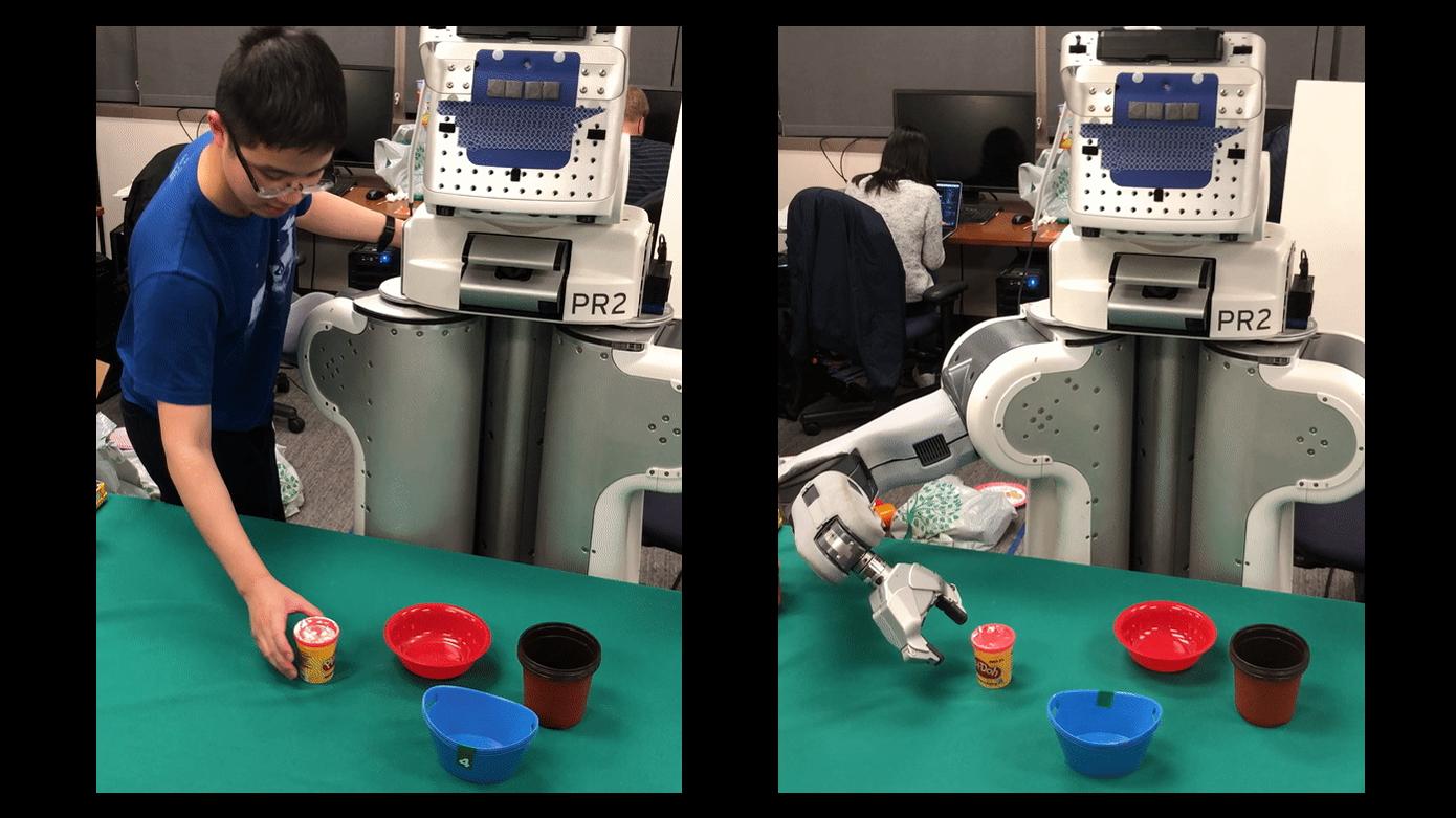 ロボットに一発で芸を仕込む新手法、UCバークレーが開発