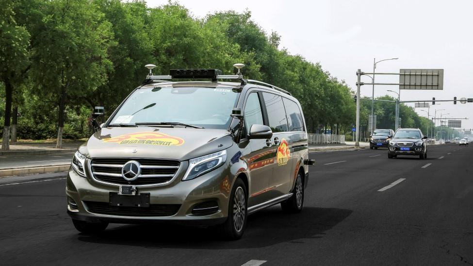 ダイムラーが自動運転車の公道試験を中国で実施へ、外国企業で初
