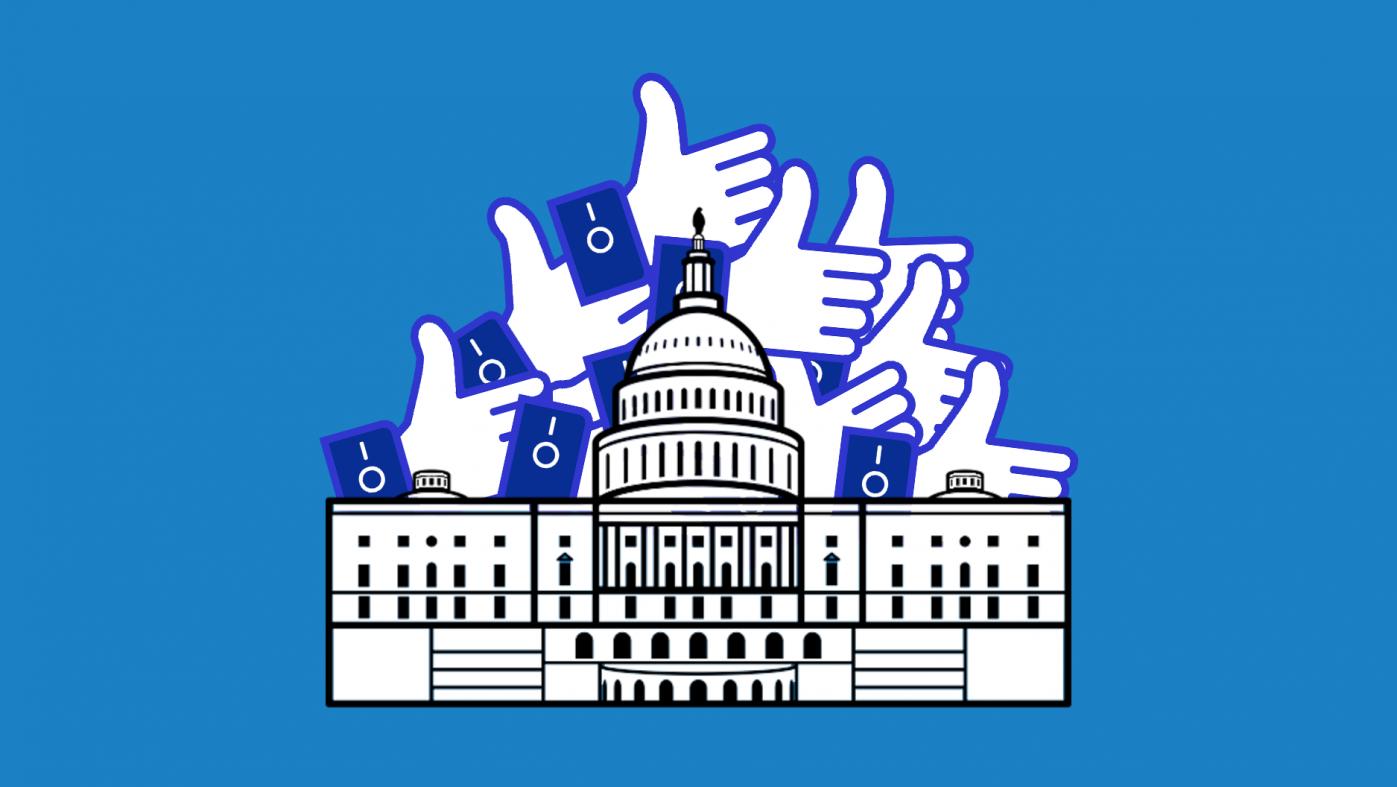 フェイスブックが政治的なページを削除、ロシア関与の疑い
