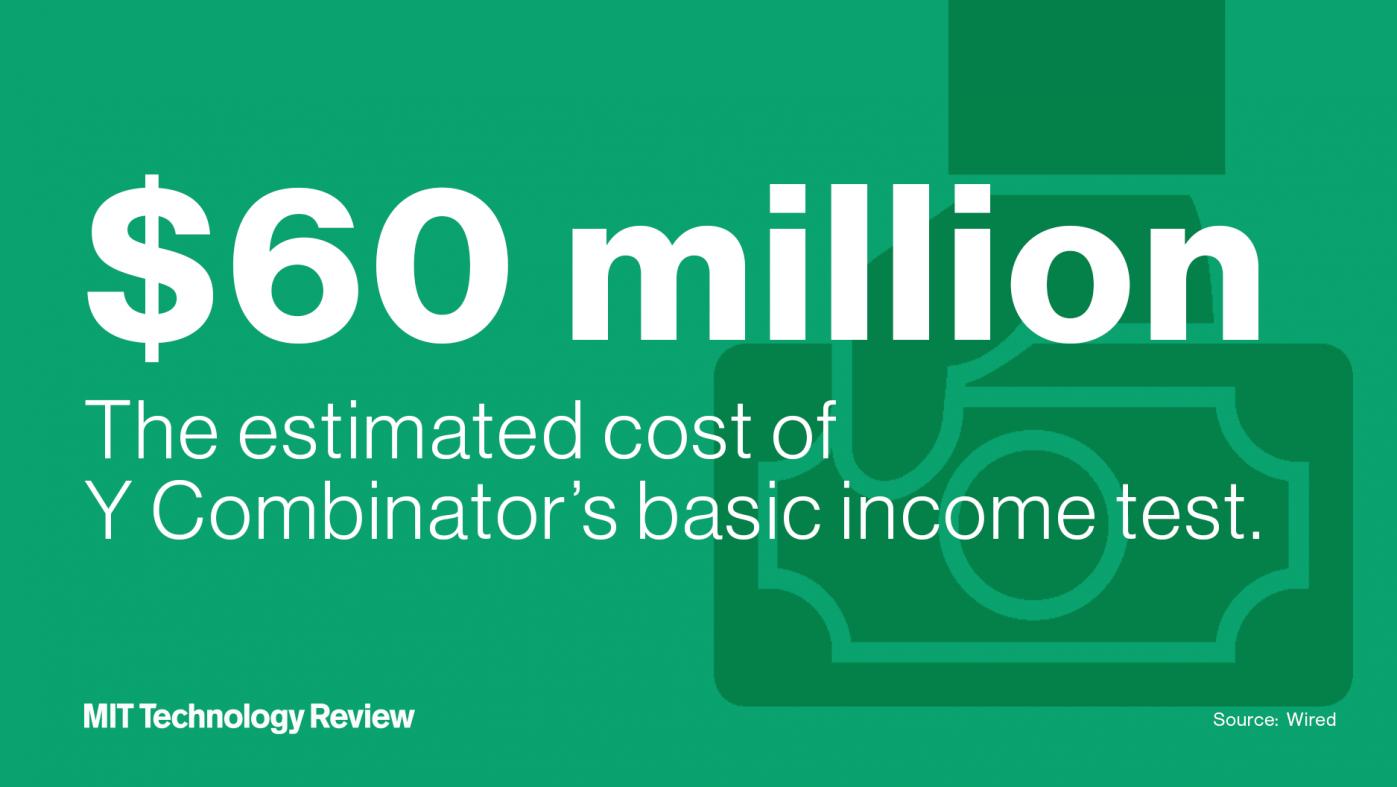 1000人に毎月1000ドル給付、Yコンビネーターの壮大なBI実験