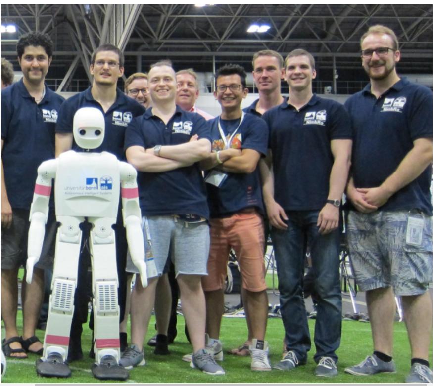 Spot the robot: The 2017 World Cup's winning team