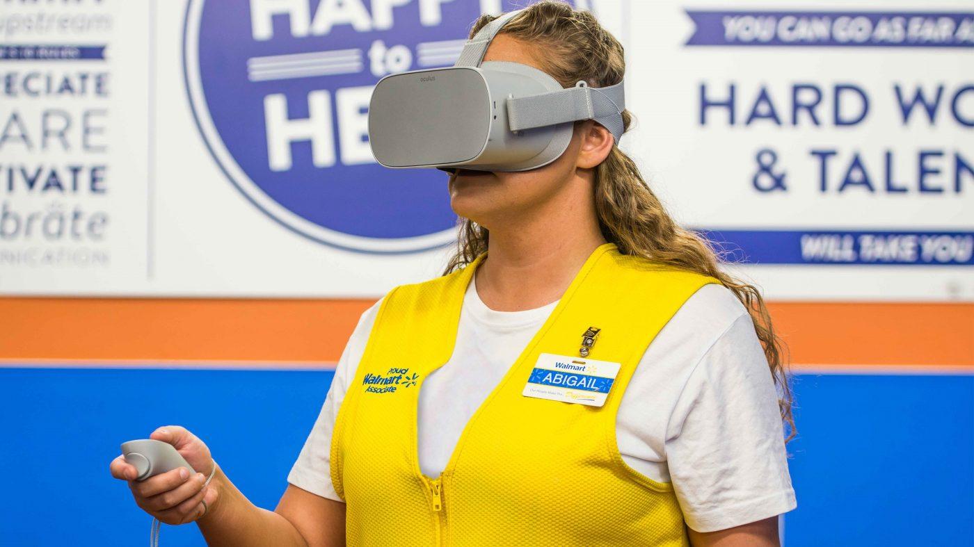 ウォルマートがVR研修を本格化、オキュラス・ゴー1万7000台導入へ